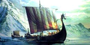 The Vikings Painting